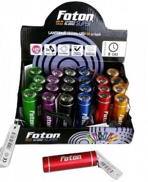 Lanterna Foton Aluminiu LED 1W (la cutie=24 buc)