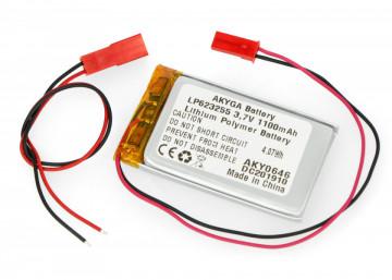 Acumulator Li-Polimer LP623255 3.7V 1100mAh