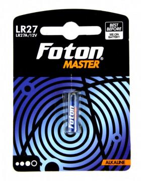 Baterie alcalina Foton Master LR27A 12V