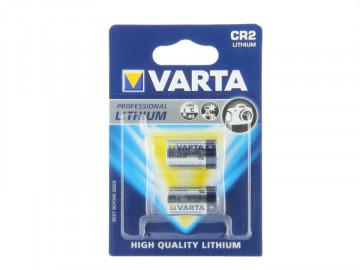 Set 2 baterii foto CR2 Litiu Varta 3V (6206)