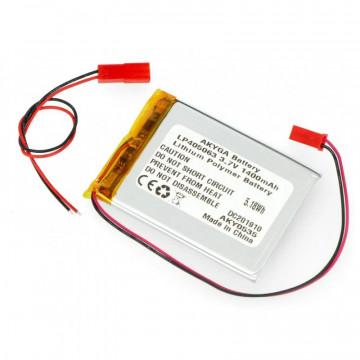 Acumulator Li-Polimer LP405063 3.7V 1400mAh