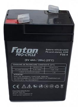 Acumulator VRLA Foton FS6-4Ah