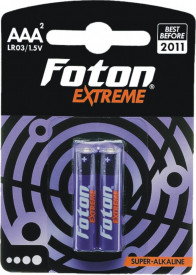 Baterii superalcaline Foton Extreme LR3/AAA