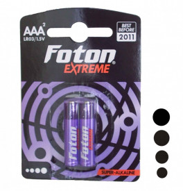 LR3 (AAA) Baterii superalcaline Foton Extreme (2 buc)