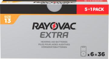 Pachet PROMO 5+1 blistere Baterii auditive Rayovac 13ZA
