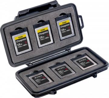 Peli XQD Memory Card Case 0965