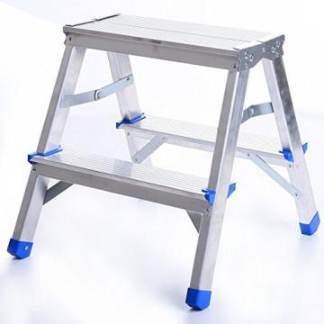 Scara aluminiu 2 trepte 125kg DR(125)ALDD-2