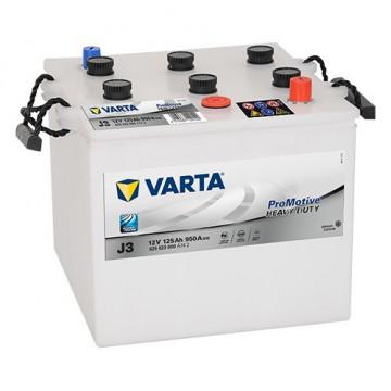 Varta Heavy Duty 125Ah 950A J3 625023000
