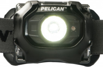 Lanterna frontala PELI 2750 cu LED alb + led rosu