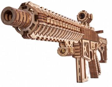 Puzzle 3D Assault Gun AR-T din lemn 496 piese
