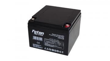Acumulator Foton VRLA FH12-28 12V 28Ah HR