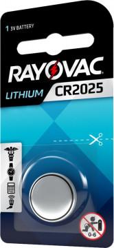 Baterie CR 2025 Litiu Rayovac 3V (CR2025)