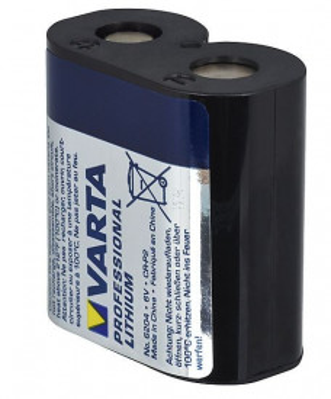 Baterie foto CR-P2 sau 6204 Varta 6V 1600mAh