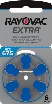 Baterii 675ZA Rayovac auditive (6 buc)
