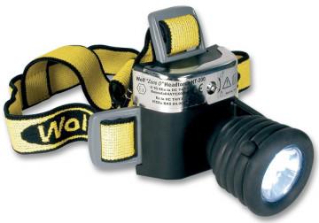Lanterna profesionala frontala antiex WOLF HT-200