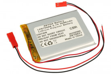 Acumulator Li-Polimer LP675568 3.7V 3500mAh