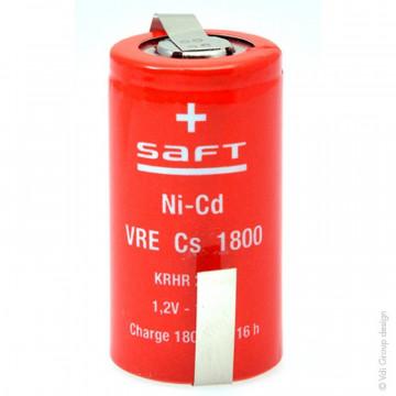 SAft 1800mAh Nicd