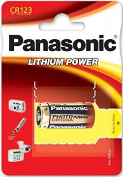 CR123 Baterie Litiu Panasonic 3V 1550mAh