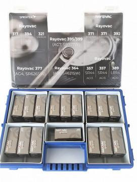 Pachet PROMO ceasornicar - 10 modele (160 baterii)