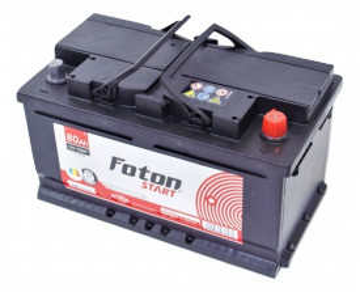 Acumulator auto Foton Start 80Ah 740A