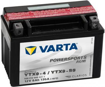 Acumulator Moto Varta AGM 12V 8Ah YTX9-BS