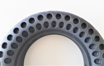 Anvelopa plina 10 inch tip fagure 10x2.5-35-5