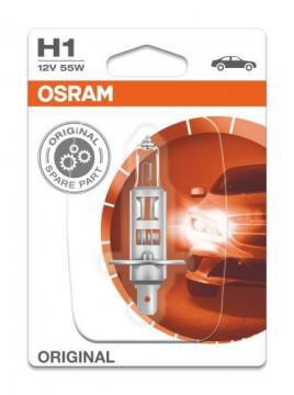 Bec auto H1 Osram Original 12V 55W 64150-01B