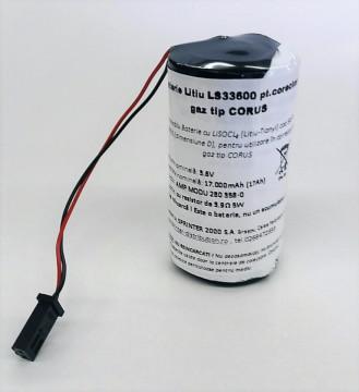 Baterie LS33600 pentru corector gaz Corus