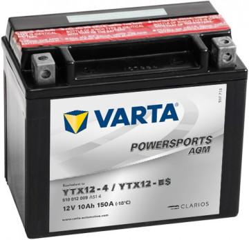 Acumulator Moto Varta AGM 12V 10Ah YTX12
