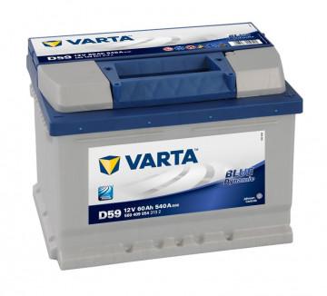 Baterie auto varta Blue 60Ah 540A