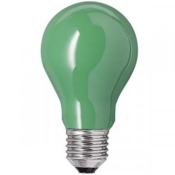 Bec clasic verde mat GE 60W E27