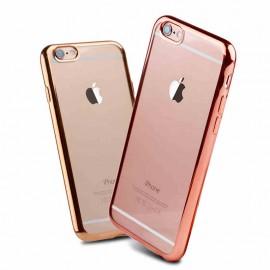 Husa Apple iPhone 6 Plus/6S Plus, Elegance Luxury placata Roz-Auriu (ELECTROPLATING ROSE-GOLD)