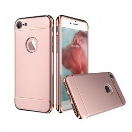 Poze Husa Apple iPhone 7 Plus, Elegance Luxury 3in1 Rose-Gold