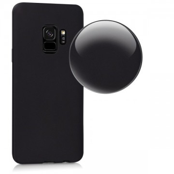 Husa Samsung Galaxy A8 2018, slim antisoc Negru