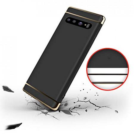 Husa Samsung Galaxy S10e , Elegance Luxury 3in1 Negru