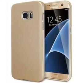 Husa Samsung Galaxy S7 Edge, Elegance Luxury slim antisoc Gold