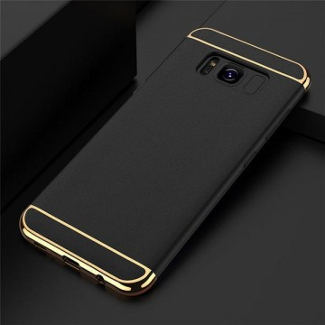 Husa Samsung Galaxy S8, Elegance Luxury 3in1 Negru