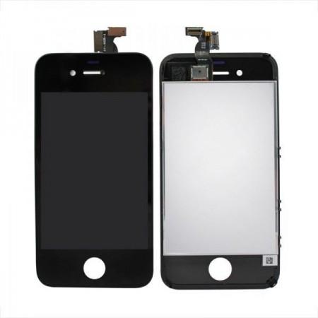 Display LCD compatibil iPhone 4, NEGRU