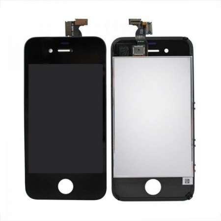 Display LCD compatibil iPhone 4S, NEGRU