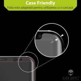 Folie Alien Surface HD, Huawei P9 Lite 2017, protectie ecran, spate, laterale + Alien Fiber Cadou