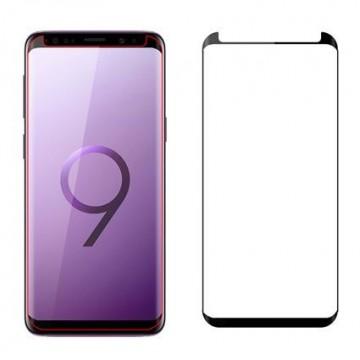 Folie de sticla Samsung Galaxy S9 Plus, Negru Case Friendly