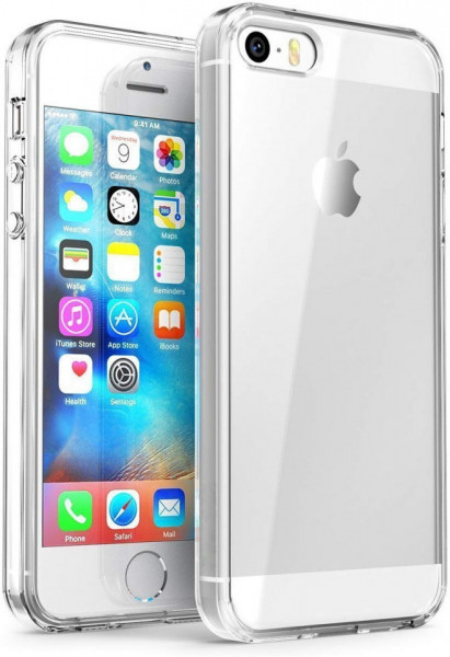 Husa Apple iPhone 5/5S/SE, TPU slim transparent