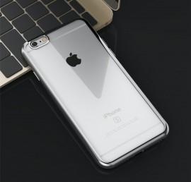 Husa Apple iPhone 6 Plus/6S Plus, Elegance Luxury placata Argintiu (ELECTROPLATING SILVER)