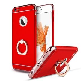 Husa Apple iPhone 7, Elegance Luxury 3in1 Ring Red