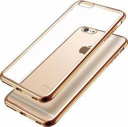 Husa Apple iPhone 7, Elegance Luxury placata Auriu (ELECTROPLATING GOLD)