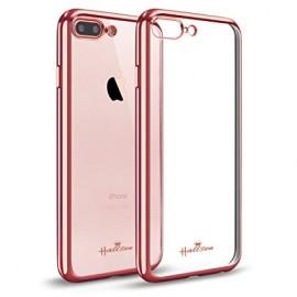 Husa Apple iPhone 7 Plus, Elegance Luxury placata Rose-Gold (ELECTROPLATING ROSE-GOLD)