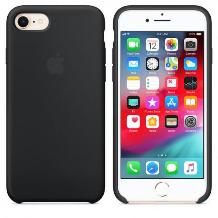 Husa Apple iPhone 8, Silicon antisoc, Charcoal Gray
