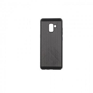 Husa Samsung Galaxy A8, Elegance Luxury Mesh Black