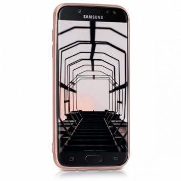 Husa Samsung Galaxy J3 2017, slim antisoc Rose-Gold
