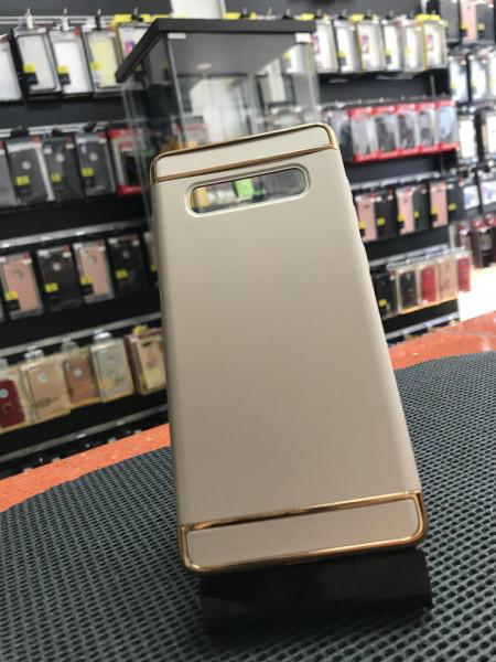 Husa Samsung Galaxy S10 , Elegance Luxury 3in1 Gold